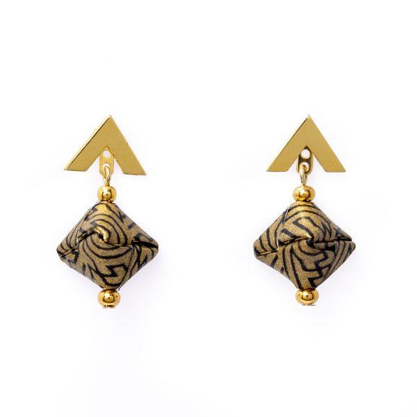 2 in 1 Origami Earrings