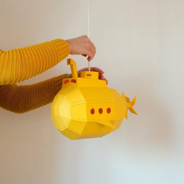 Submarine Paperlamp
