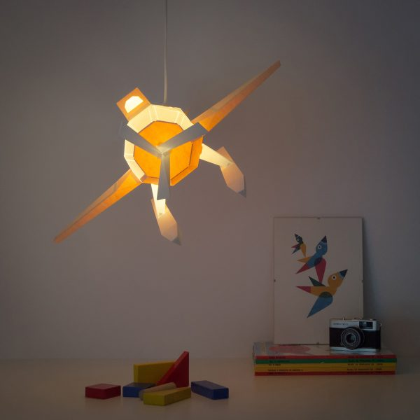 Seaplane Paperlamp