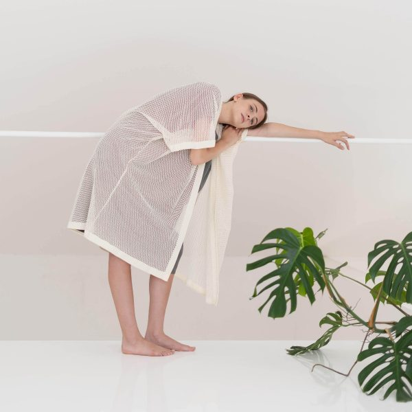Kimono in Raw Mesh