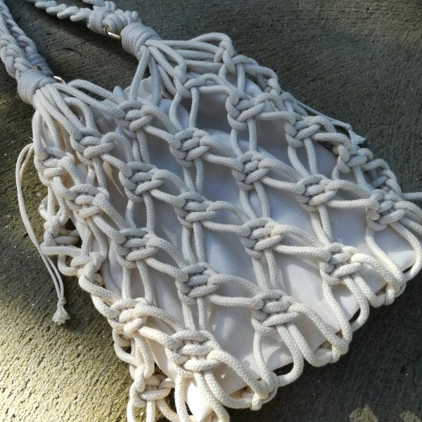Kit Diy Macrame Bag